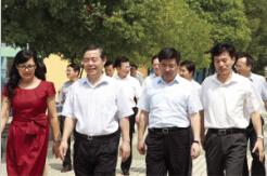 南通:丁大卫书记慰问海门东洲小学教师 江苏省今日