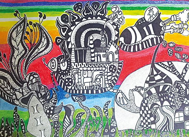 妙手绘天下 海门市小学生优秀绘画作品展