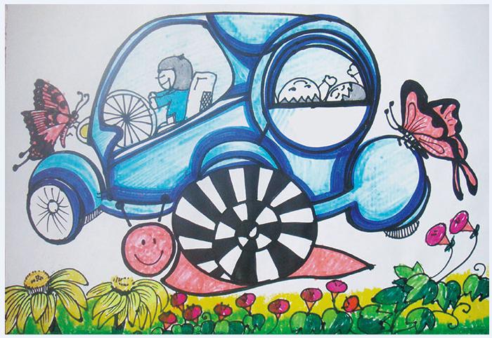 海门市三阳小学四年级美术作品展 江苏省今日教育集团