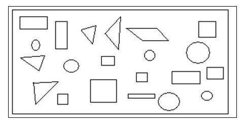 圆形三角形方形拼图