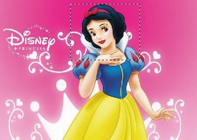 ps变脸之白雪公主的微笑