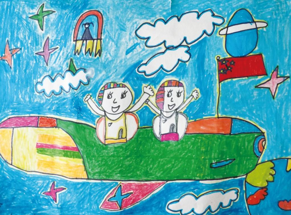 儿童手绘超巿图