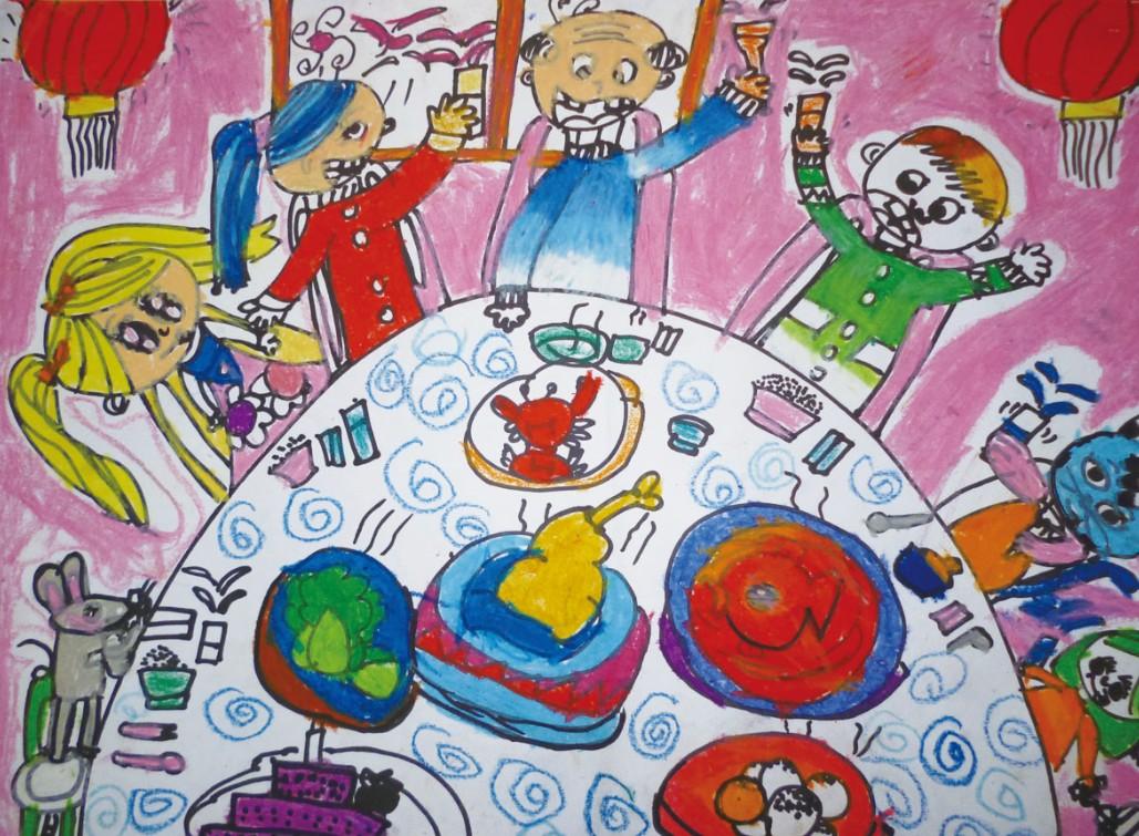 小学手绘旅游海报