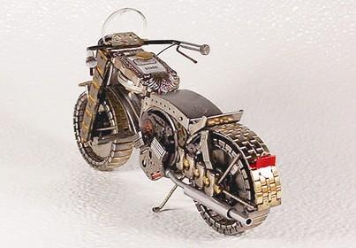 表面变身车灯或摩托车油箱